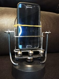 stop motion stand shaker phone