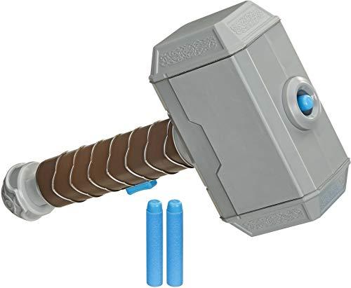 nerf power moves thor hammer mjolnir marvel avengers yinzbuy