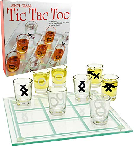 tic tac toe drinking game matty's toy store glass shot glass set and board yinzbuy