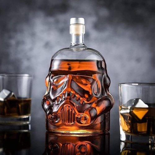 stormtrooper decanter glass barware set with two tumblers star wars gift yinzbuy