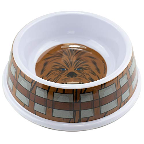 chewbacca dog bowl pet safe star wars wookie food and water bowl yinzbuy
