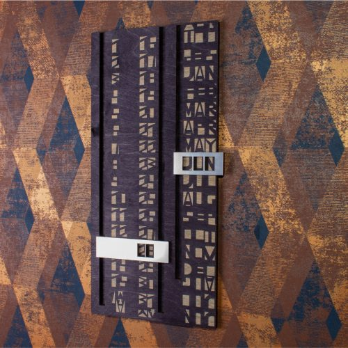 cryptic calendar number and month illusion wall art yinzbuy