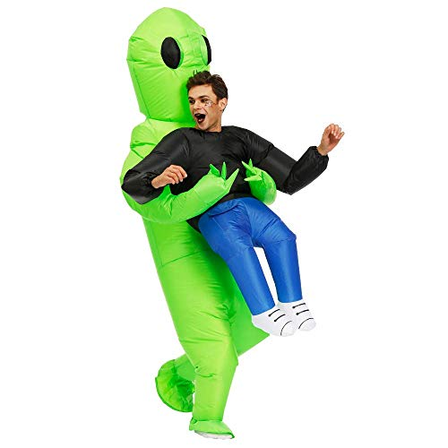 alien abduction costume inflatable halloween kidnapping costume yinzbuy
